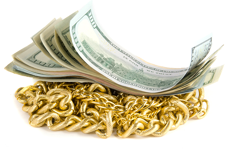 scrap gold cash