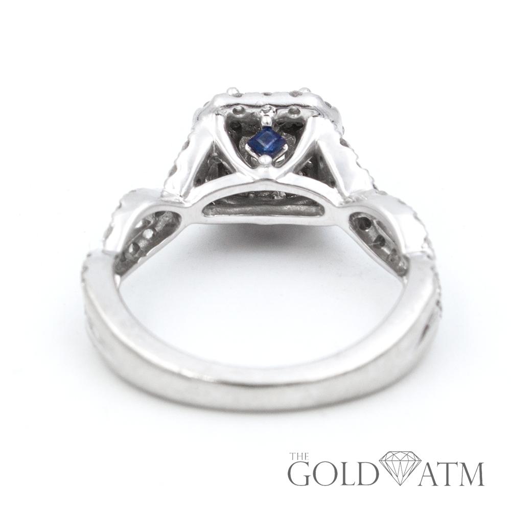 14k Vera Wang White Gold 65ct Diamond Engagement Ring