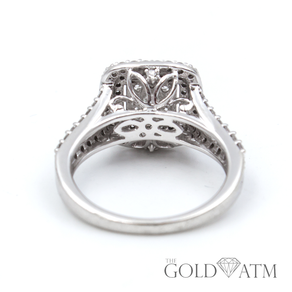 Wedding Rings Kay Jewelry.14k White Gold Engagement Ring From Kay Jewelers 1 5 Cttw