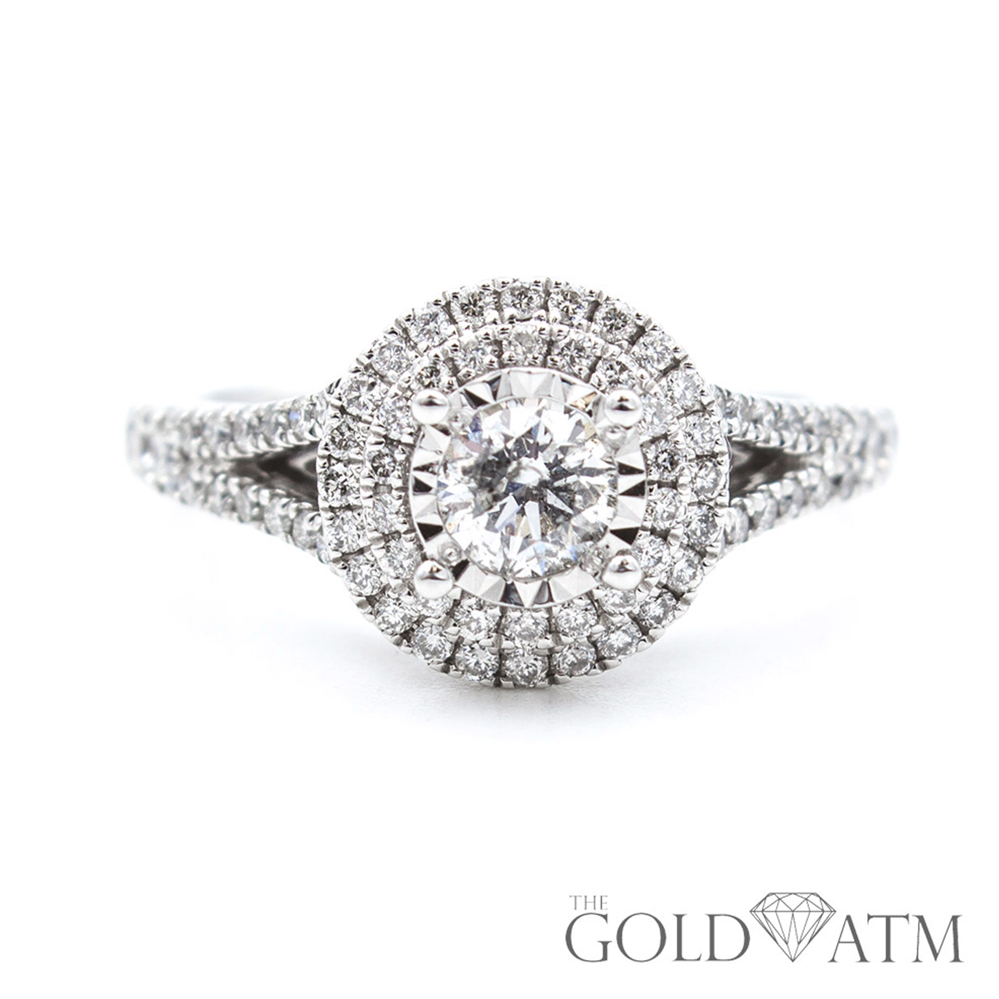9a7d2d1cd 14K White Gold .33ct Diamond Engagement Ring from Kay Jewelers ...