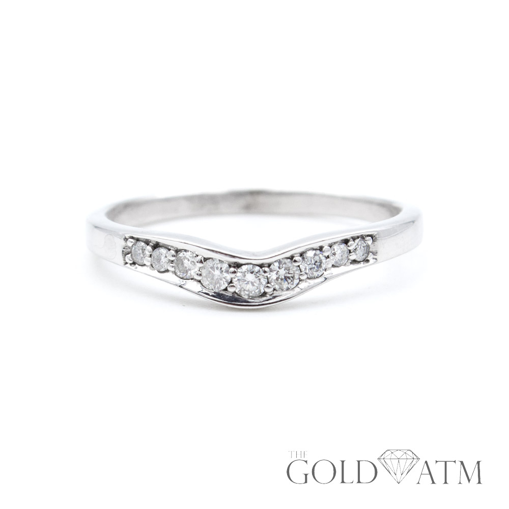 14k White Gold Women's Diamond Wedding Band From Kay Jewelers Size 9 12: Kays Diamond Wedding Bands At Websimilar.org