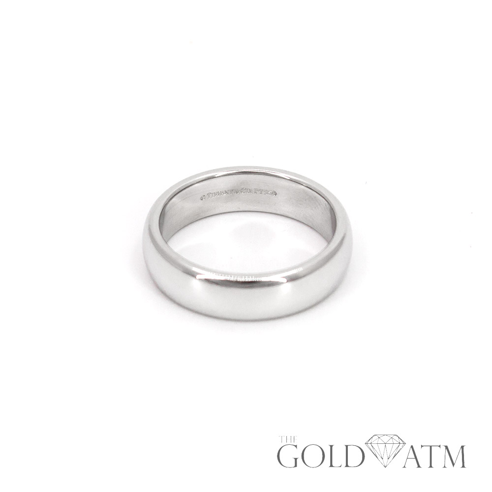 4461a672d Platinum Tiffany & Co. Men's Wedding Band (Size 9 1/2) - The Gold ATM