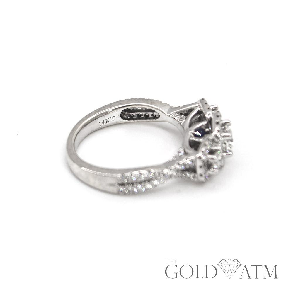 Hot sale Fashion Luxury Women Engagement Jewelry 5A ZC Crystal Zircon Female Wedding Finger