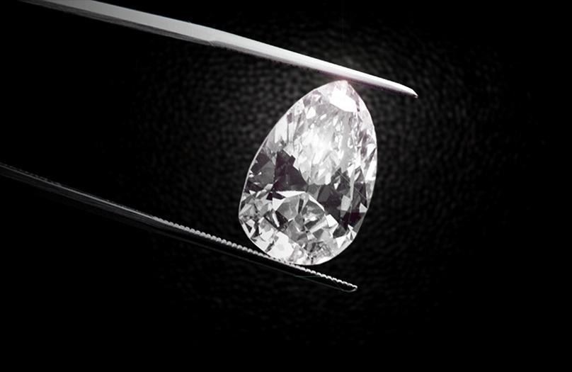 Diamond in Prongs