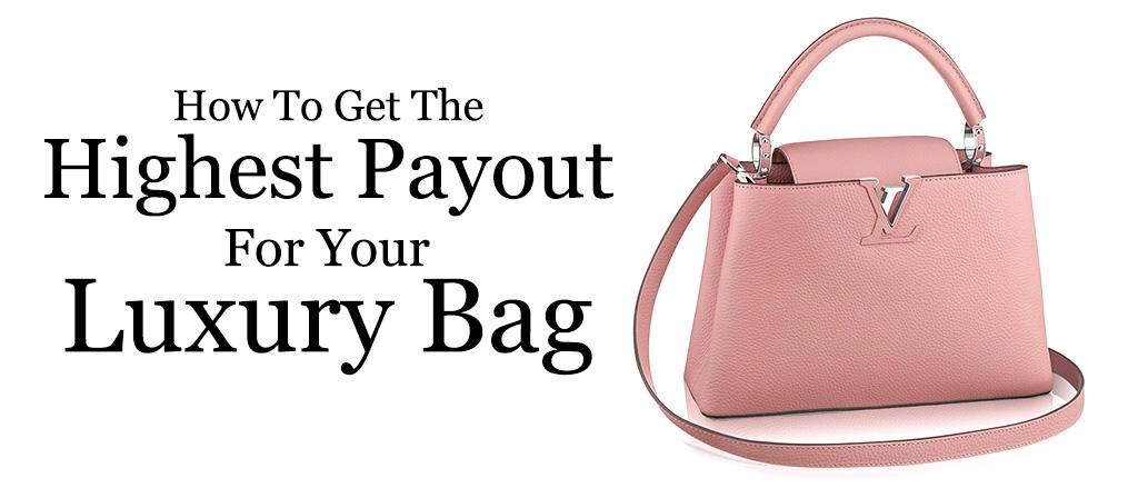 pink Louis Vuitton purse